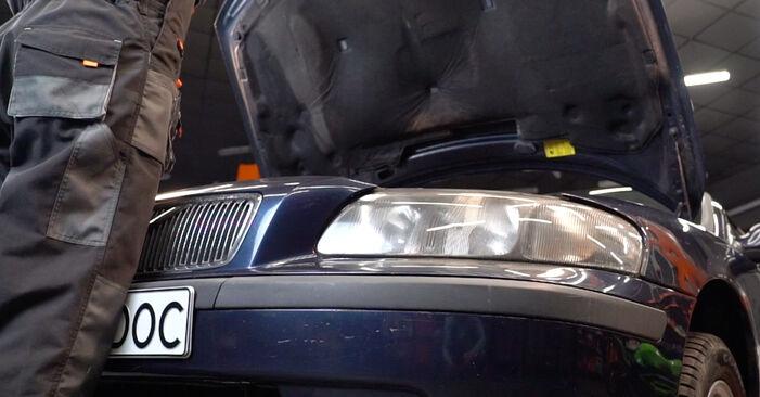 Kuidas vahetada Volvo V70 SW 1999 Vedrustus - tasuta PDF- ja videojuhendid