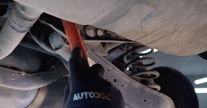 Federn am VW Golf V Schrägheck (1K1) 1.4 16V 2008 wechseln – Laden Sie sich PDF-Handbücher und Videoanleitungen herunter