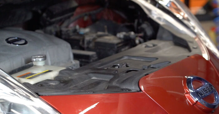 How to change Springs on NISSAN LEAF 2010 - free PDF and video manuals
