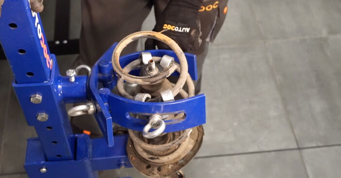 LEAF Elektrik 2021 Springs DIY replacement workshop manual