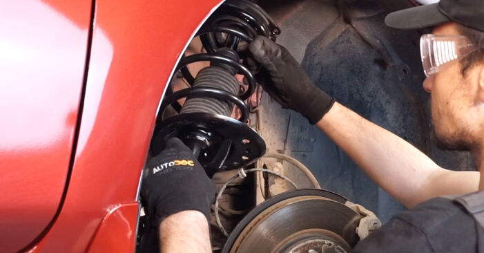 How to remove NISSAN LEAF Elektrik 2014 Springs - online easy-to-follow instructions