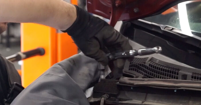How to replace Springs on NISSAN LEAF 2015: download PDF manuals and video instructions