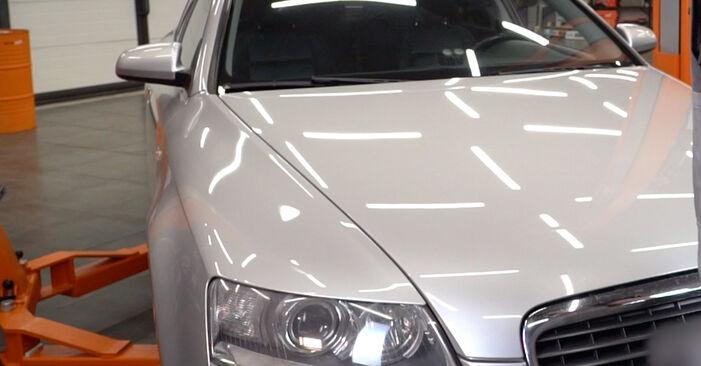 Podrobné odporúčania pre svojpomocnú výmenu Audi A6 4f2 2009 2.0 TFSI Pruženie