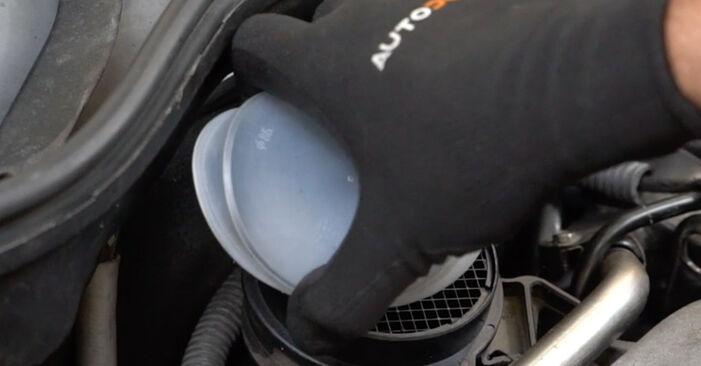 Wie Luftfilter Mercedes W203 C 220 CDI 2.2 (203.006) 2000 tauschen - Kostenlose PDF- und Videoanleitungen