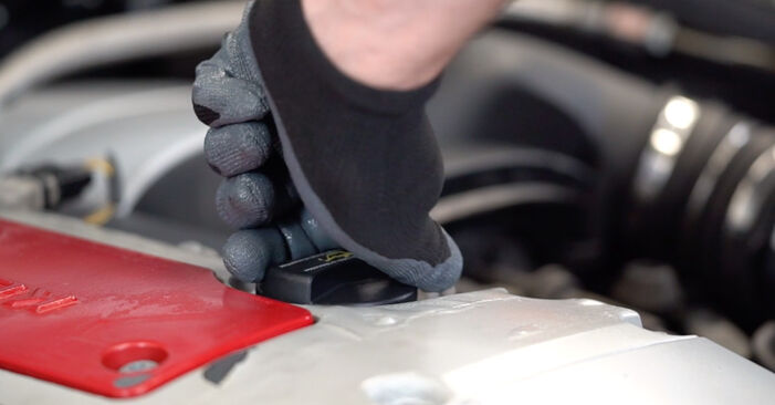 MERCEDES-BENZ C-CLASS 2007 -auton Öljynsuodatin: vaihe-vaiheelta -vaihto-opas