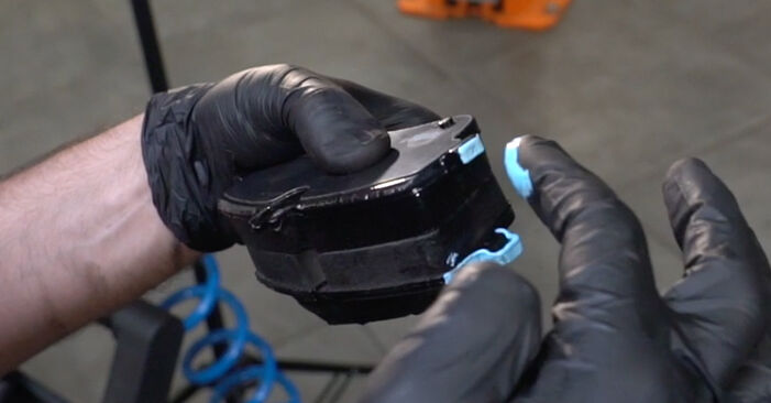 How to change Brake Pads on Mercedes W203 2000 - free PDF and video manuals