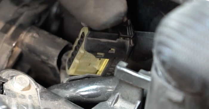 How hard is it to do yourself: Mass Air Flow Sensor replacement on Mercedes W203 C 200 2.0 Kompressor (203.045) 2006 - download illustrated guide