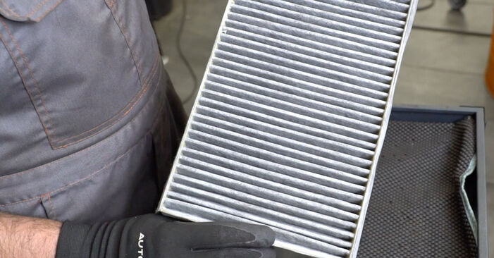 Need to know how to renew Pollen Filter on MERCEDES-BENZ C-CLASS ? This free workshop manual will help you to do it yourself