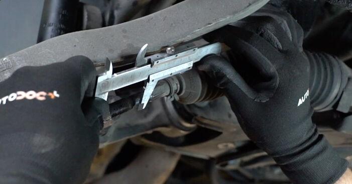 Tausch Tutorial Spurstangenkopf am MERCEDES-BENZ E-Klasse Limousine (W211) 2006 wechselt - Tipps und Tricks