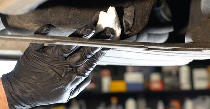 Corsa D Schrägheck (S07) 1.3 CDTI (L08, L68) 2008 Ölfilter - Wegleitung zum selbstständigen Teileersatz