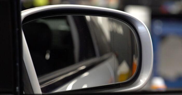 E-Klasse Limousine (W211) E 280 CDI 3.0 (211.020) 2005 E 270 CDI 2.7 (211.016) Spiegelglas - Handbuch zum Wechsel und der Reparatur eigenständig