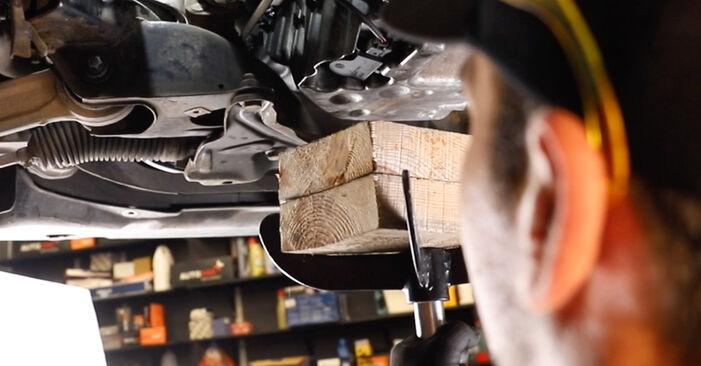 Mercedes W211 E 270 CDI 2.7 (211.016) 2004 Motorlager wechseln: Gratis Reparaturanleitungen