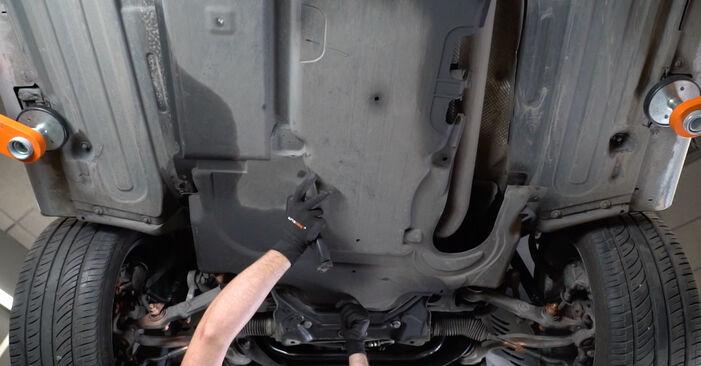 Wie schwer ist es, selbst zu reparieren: Motorlager Mercedes W211 E 320 CDI 3.0 (211.022) 2008 Tausch - Downloaden Sie sich illustrierte Anleitungen