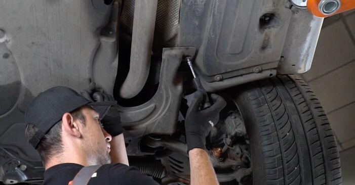 Motorlager beim MERCEDES-BENZ E-CLASS E 200 1.8 Kompressor (211.042) 2009 selber erneuern - DIY-Manual