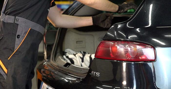 Önálló ALFA ROMEO 159 Sportwagon (939) 1.9 JTDM 8V 2008 Lengéscsillapító csere