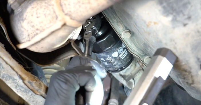 FIAT PANDA 1.2 Oil Filter replacement: online guides and video tutorials