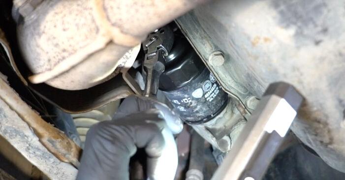 Sostituzione di FIAT PANDA 1.2 Filtro Olio: guide online e tutorial video