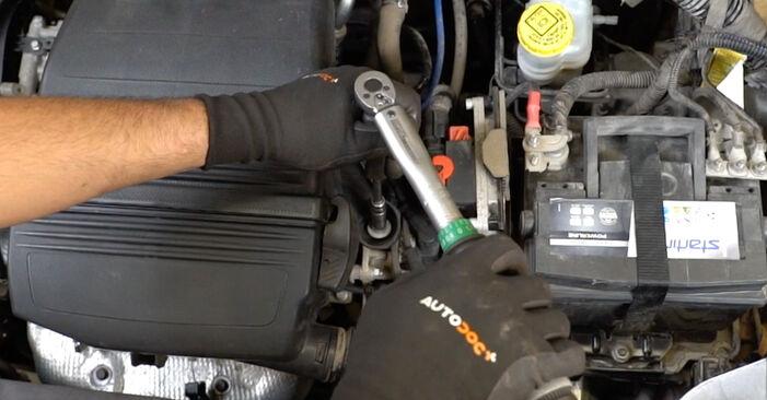 Zündkerzen Fiat Panda 169 1.2 Natural Power 2005 wechseln: Kostenlose Reparaturhandbücher