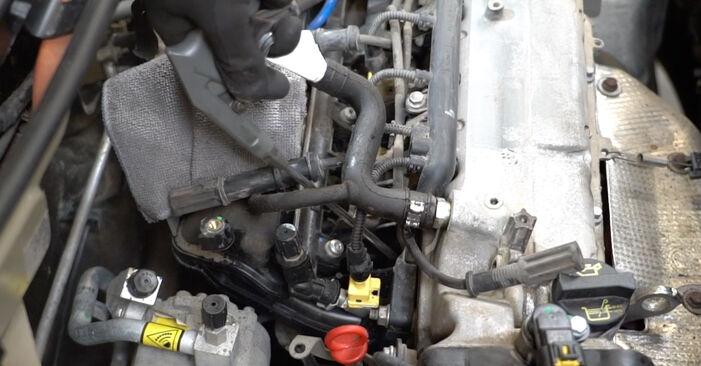 Ako dlho trvá výmena: Zapalovacia sviečka na aute Fiat Panda 169 2011 – informačný PDF návod