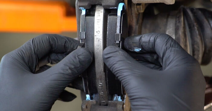 How to replace FIAT PANDA (169) 1.2 2004 Brake Pads - step-by-step manuals and video guides