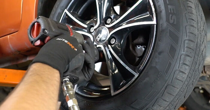 Changing of Brake Pads on Fiat Panda 169 2011 won't be an issue if you follow this illustrated step-by-step guide