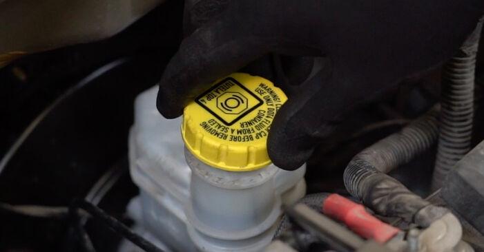 PANDA (169) 1.2 4x4 2014 Brake Pads DIY replacement workshop manual