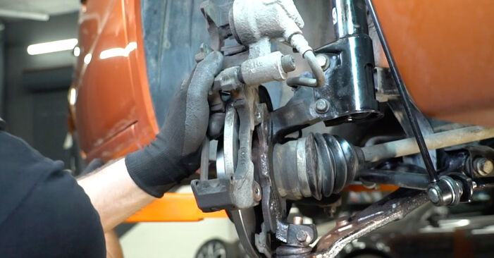FIAT PANDA 2010 Disques De Frein manuel de remplacement étape par étape
