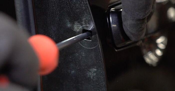 Cum schimbare Maner usa la Nissan Qashqai j10 2006 - manualele în format PDF și video gratuite