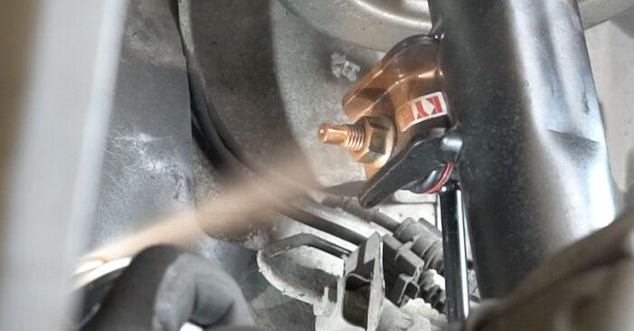 Смяна на Mercedes W203 C 180 1.8 Kompressor (203.046) 2002 Амортисьор: безплатни наръчници за ремонт