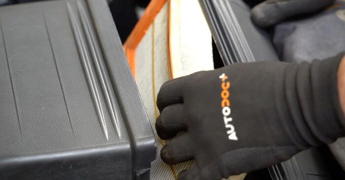 Come rimuovere FIAT PANDA 1.2 4x4 2007 Filtro Aria - istruzioni online facili da seguire