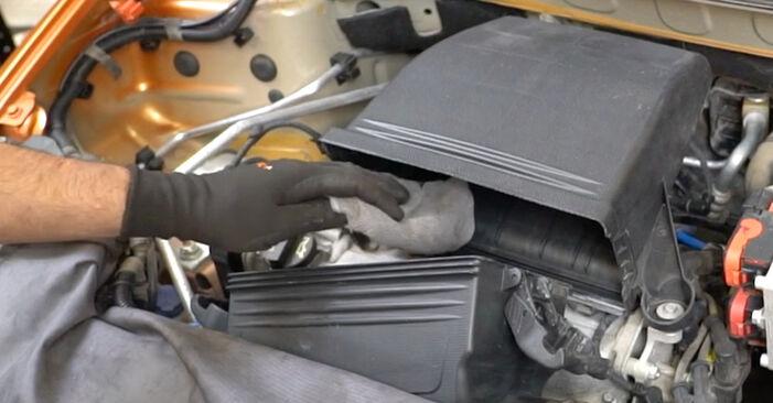 Devi sapere come rinnovare Filtro Aria su FIAT PANDA ? Questo manuale d'officina gratuito ti aiuterà a farlo da solo
