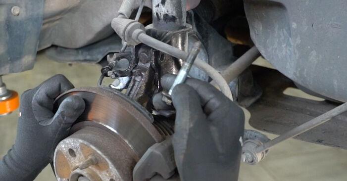 Wechseln Stoßdämpfer am FIAT PANDA (169) 1.3 D Multijet 4x4 2006 selber