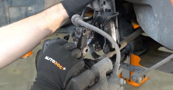 Wie FIAT PANDA 1.2 4x4 2007 Stoßdämpfer ausbauen - Einfach zu verstehende Anleitungen online