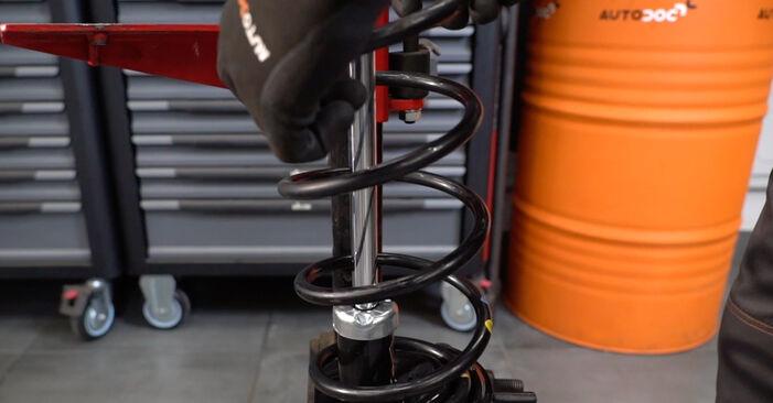 Stoßdämpfer Fiat Panda 169 1.2 Natural Power 2005 wechseln: Kostenlose Reparaturhandbücher