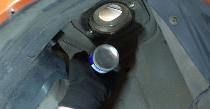 Austauschen Anleitung Stoßdämpfer am Fiat Panda 169 2013 1.2 selbst