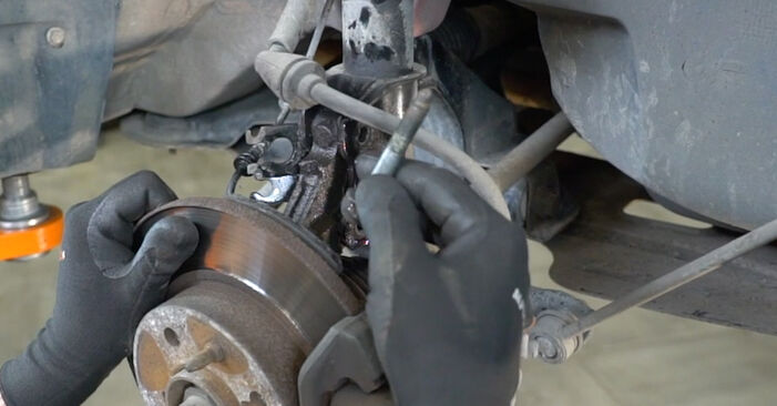 Fiat Panda 169 1.1 2005 Molla Ammortizzatore sostituzione: manuali dell'autofficina