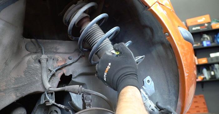 Come sostituire Molla Ammortizzatore su FIAT PANDA (169) 2008: scarica manuali PDF e istruzioni video