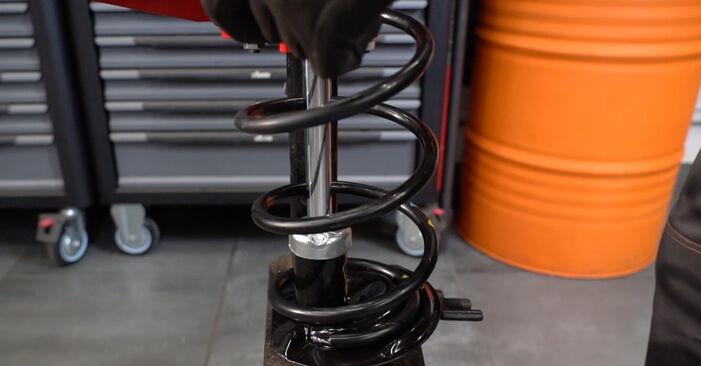 Sostituire Molla Ammortizzatore su FIAT PANDA (169) 1.2 Natural Power 2017 non è più un problema con il nostro tutorial passo-passo