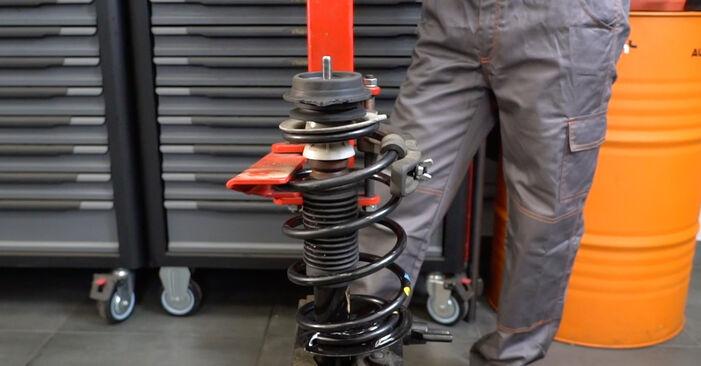 Come rimuovere FIAT PANDA 1.2 4x4 2007 Molla Ammortizzatore - istruzioni online facili da seguire