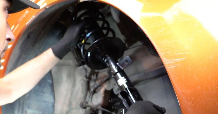 La sostituzione di Molla Ammortizzatore su Fiat Panda 169 2011 non sarà un problema se segui questa guida illustrata passo-passo