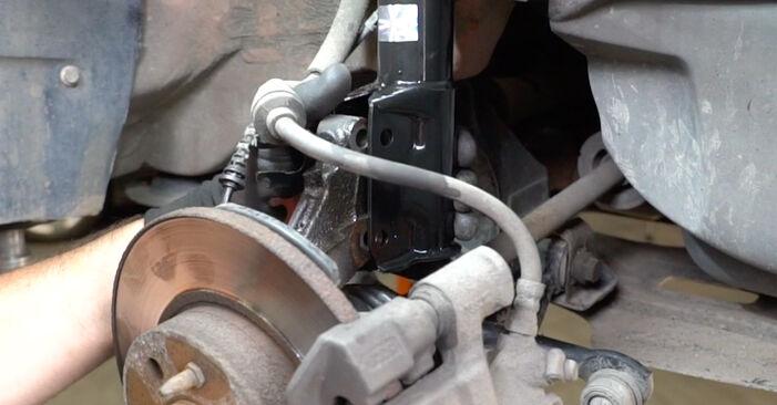 Sostituendo Molla Ammortizzatore su Fiat Panda 169 2013 1.2 da solo