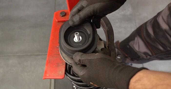 PANDA (169) 1.2 4x4 2014 Strut Mount DIY replacement workshop manual
