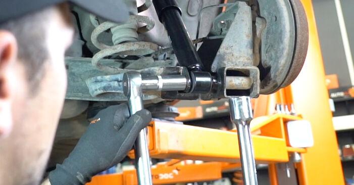Jak zdjąć FIAT PANDA 1.2 4x4 2007 Amortyzator - łatwe w użyciu instrukcje online