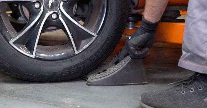 FIAT PANDA 2010 Lozisko kolesa návod na výmenu, krok po kroku
