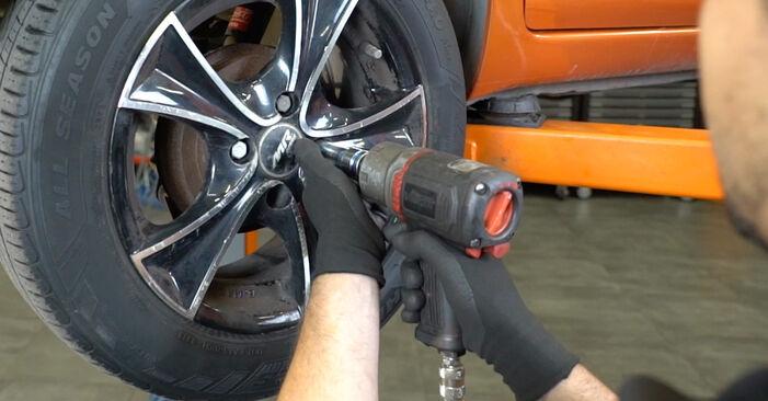 Fiat Panda 169 1.1 2005 Cuscinetto Ruota sostituzione: manuali dell'autofficina