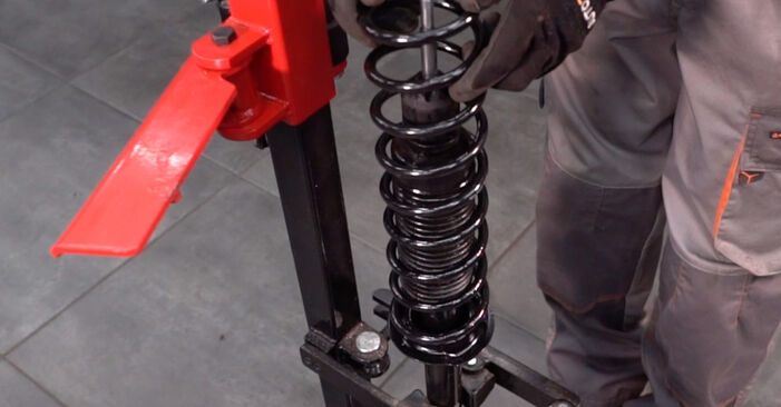 Changing of Springs on Twingo c06 2001 won't be an issue if you follow this illustrated step-by-step guide