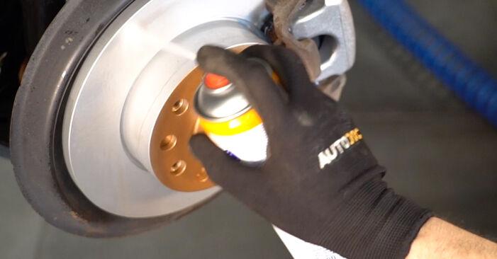 TOURAN (1T1, 1T2) 1.6 FSI 2006 Molla Ammortizzatore manuale di officina di ricambio fai da te