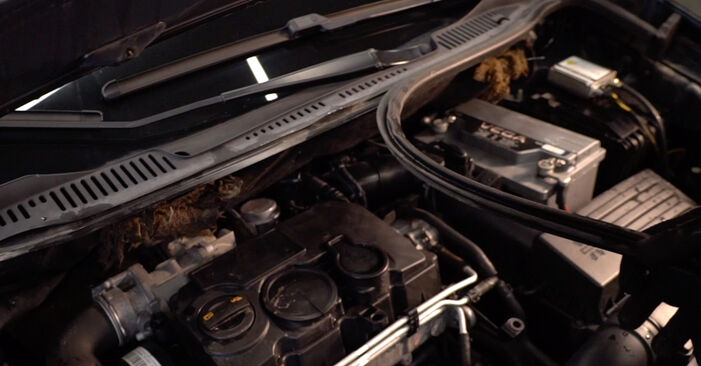 Federn Touran 1t1 1t2 2.0 TDI 2005 wechseln: Kostenlose Reparaturhandbücher
