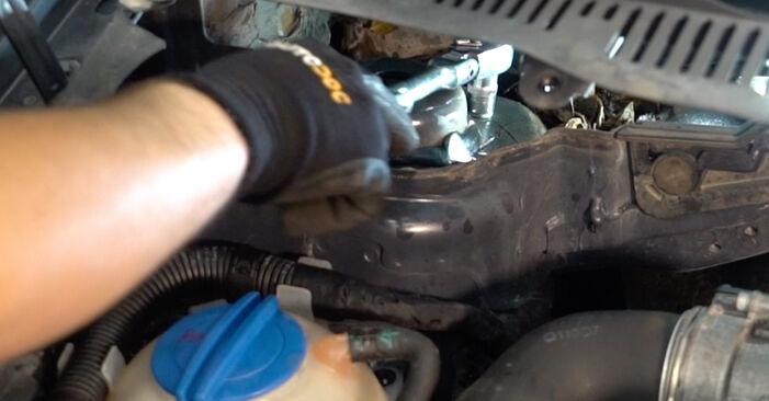 Wie schwer ist es, selbst zu reparieren: Federn Touran 1t1 1t2 1.9 TDI 2009 Tausch - Downloaden Sie sich illustrierte Anleitungen