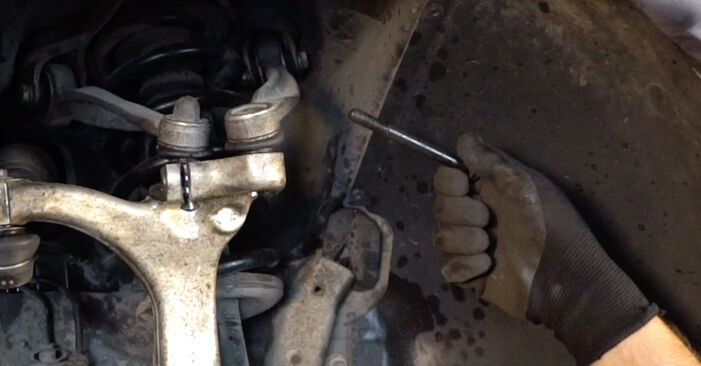 Step-by-step recommendations for DIY replacement Audi A4 B6 Avant 2003 2.5 TDI Springs